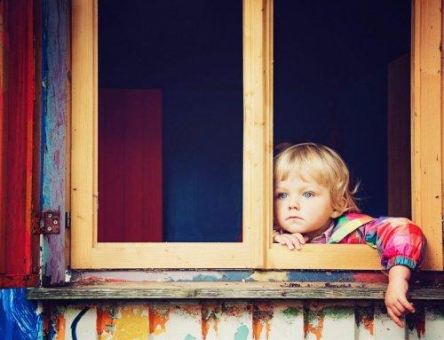 Eine große Suche eines kleinen Mädchens